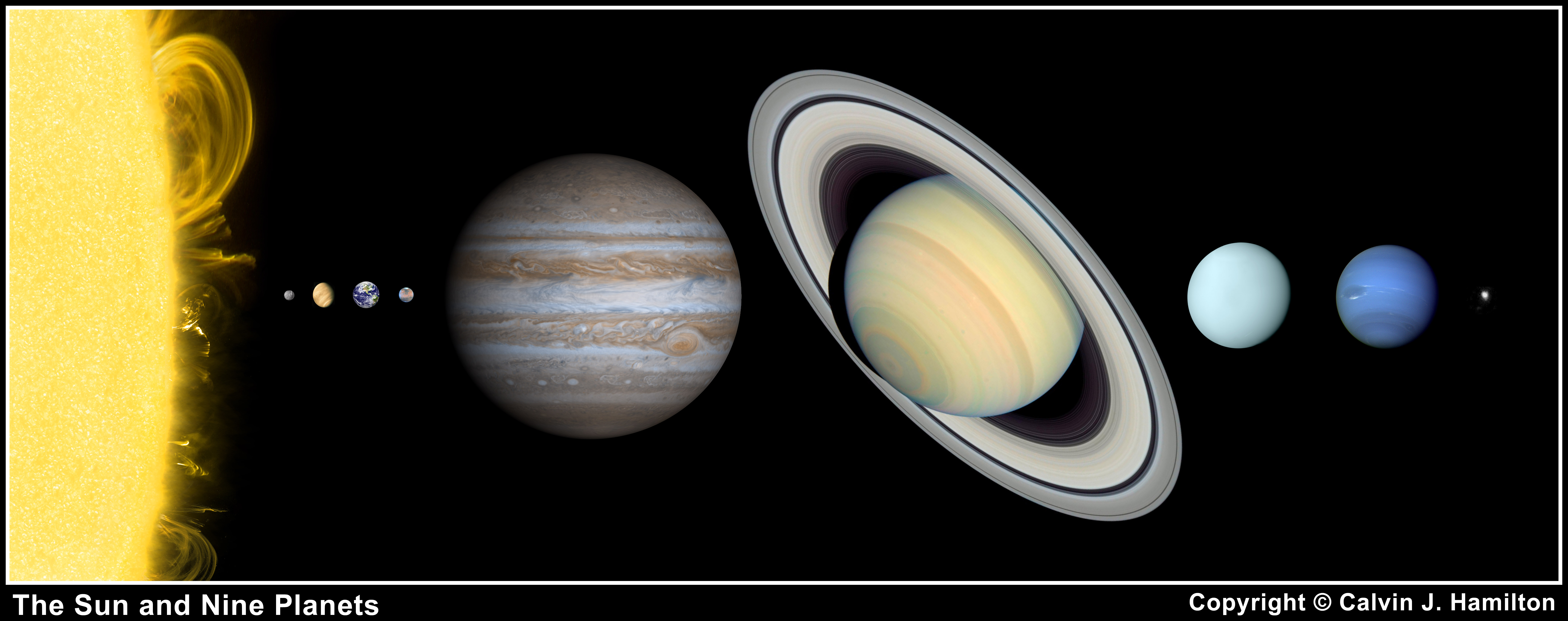 solar system planets in order of distance from sun - photo #30