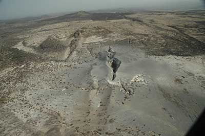 The rift in Afar, Ethiopia