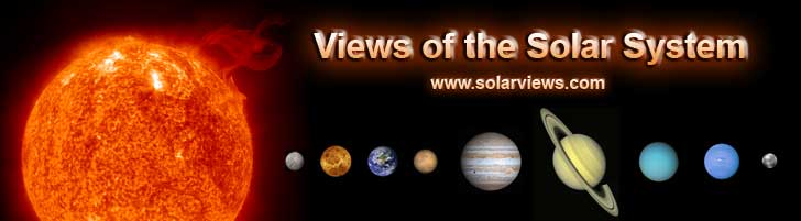views of the solar system