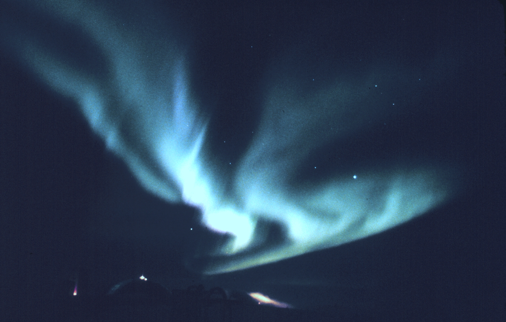 Aurora Australis Antarctica South Pole Station