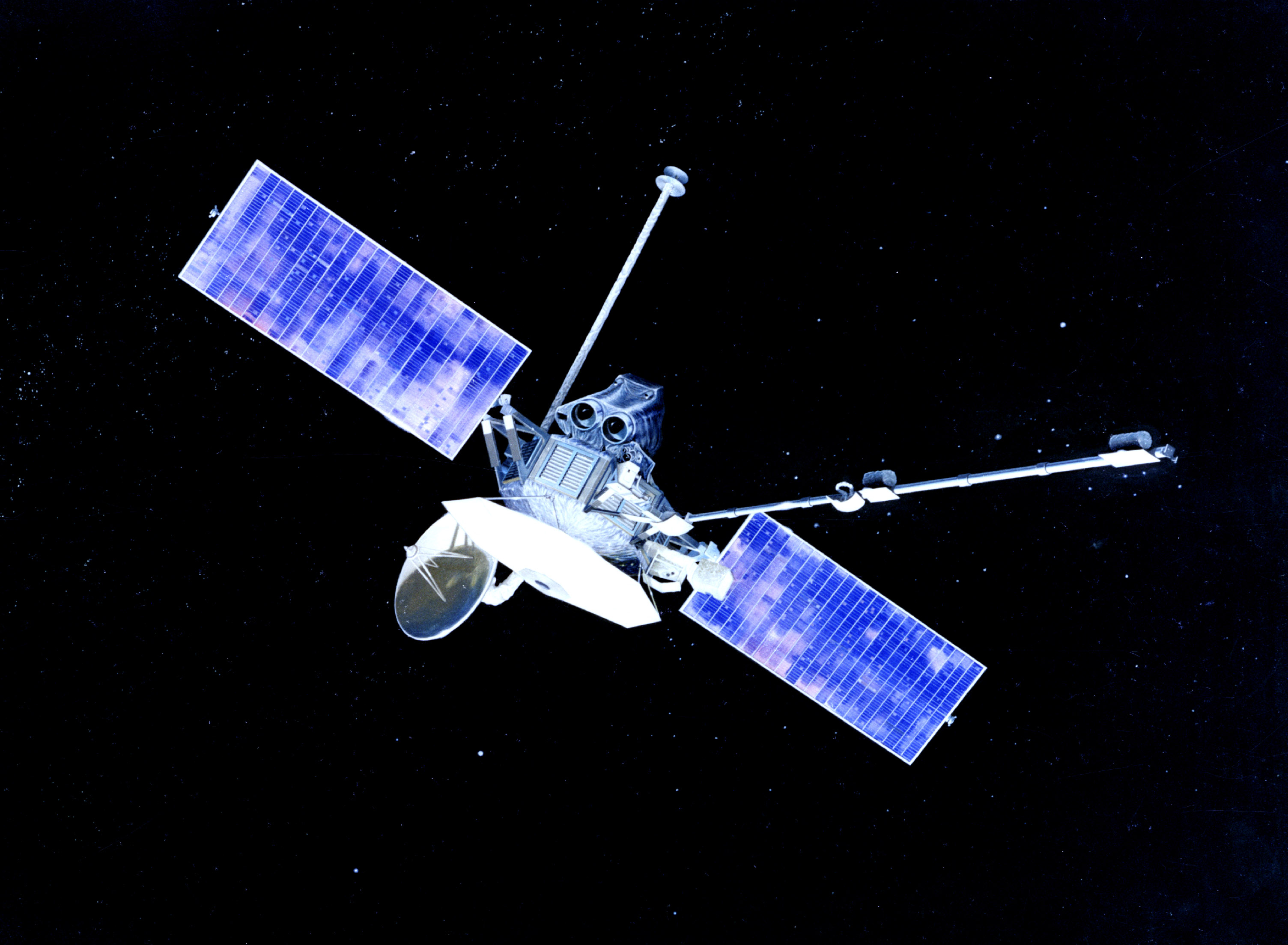 Mariner 10 - Two Firsts