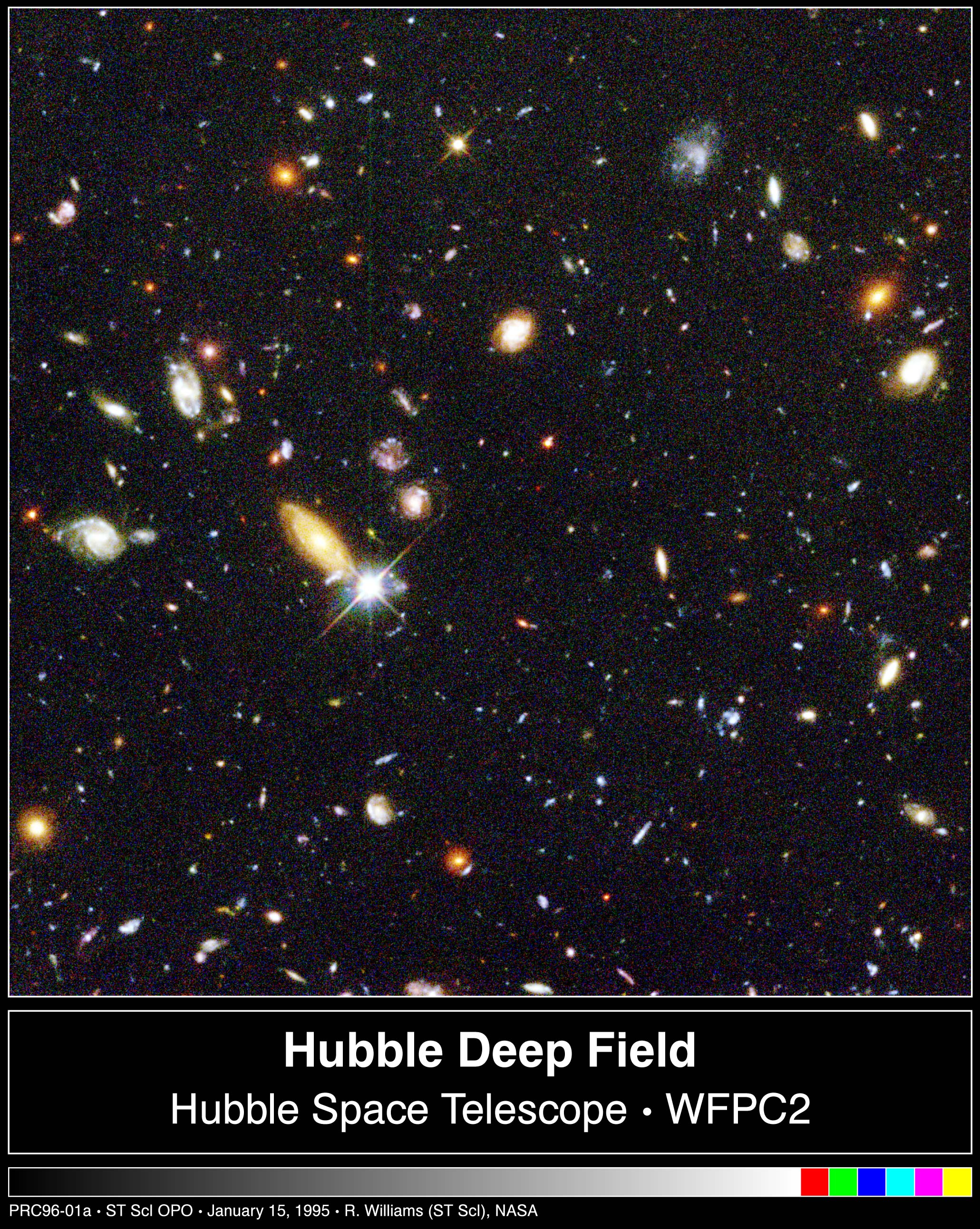 Hubble's Deepest-Ever View Of The Universe Unveils Myriad ...
