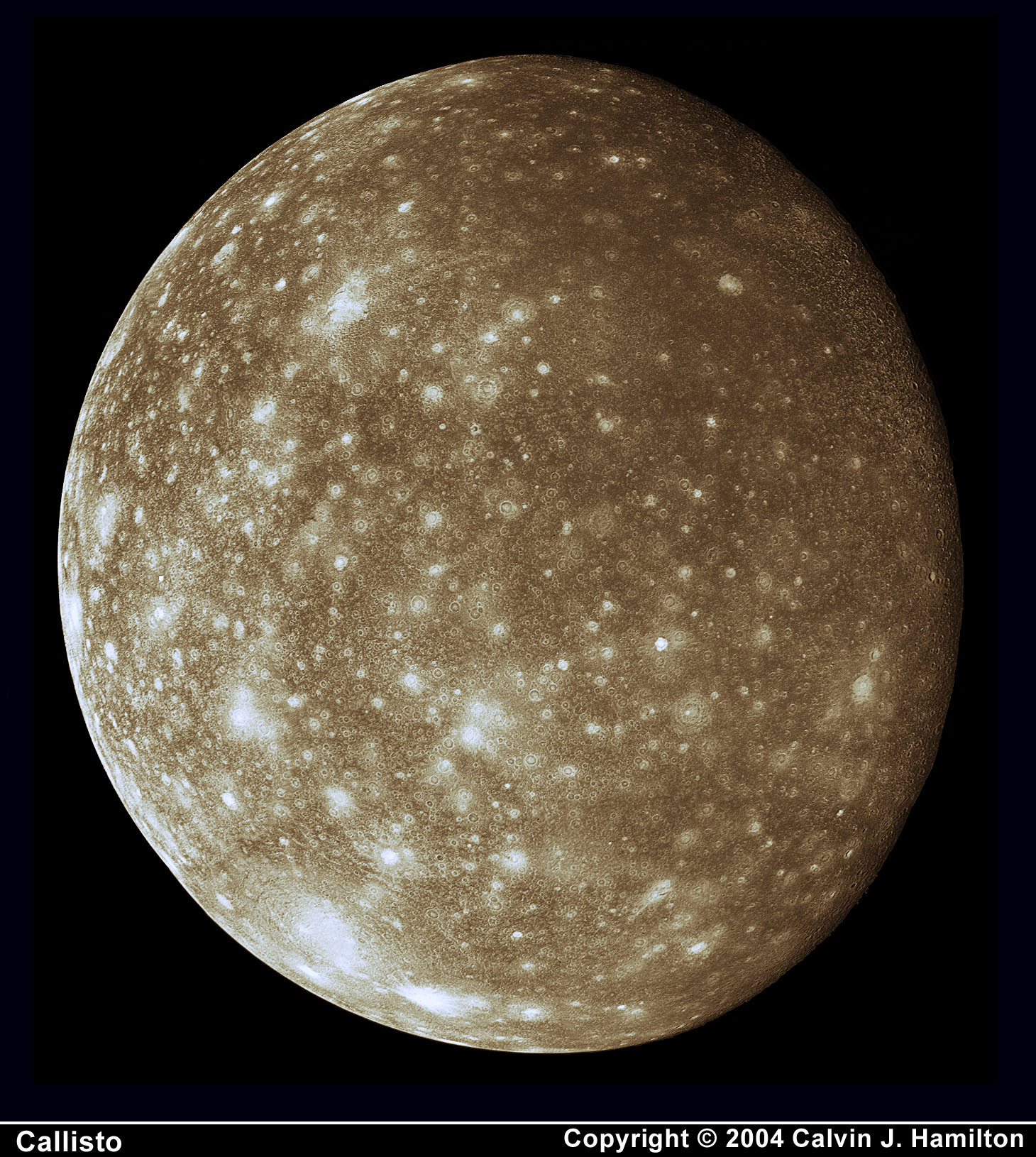 High Resolution Image Of Callisto