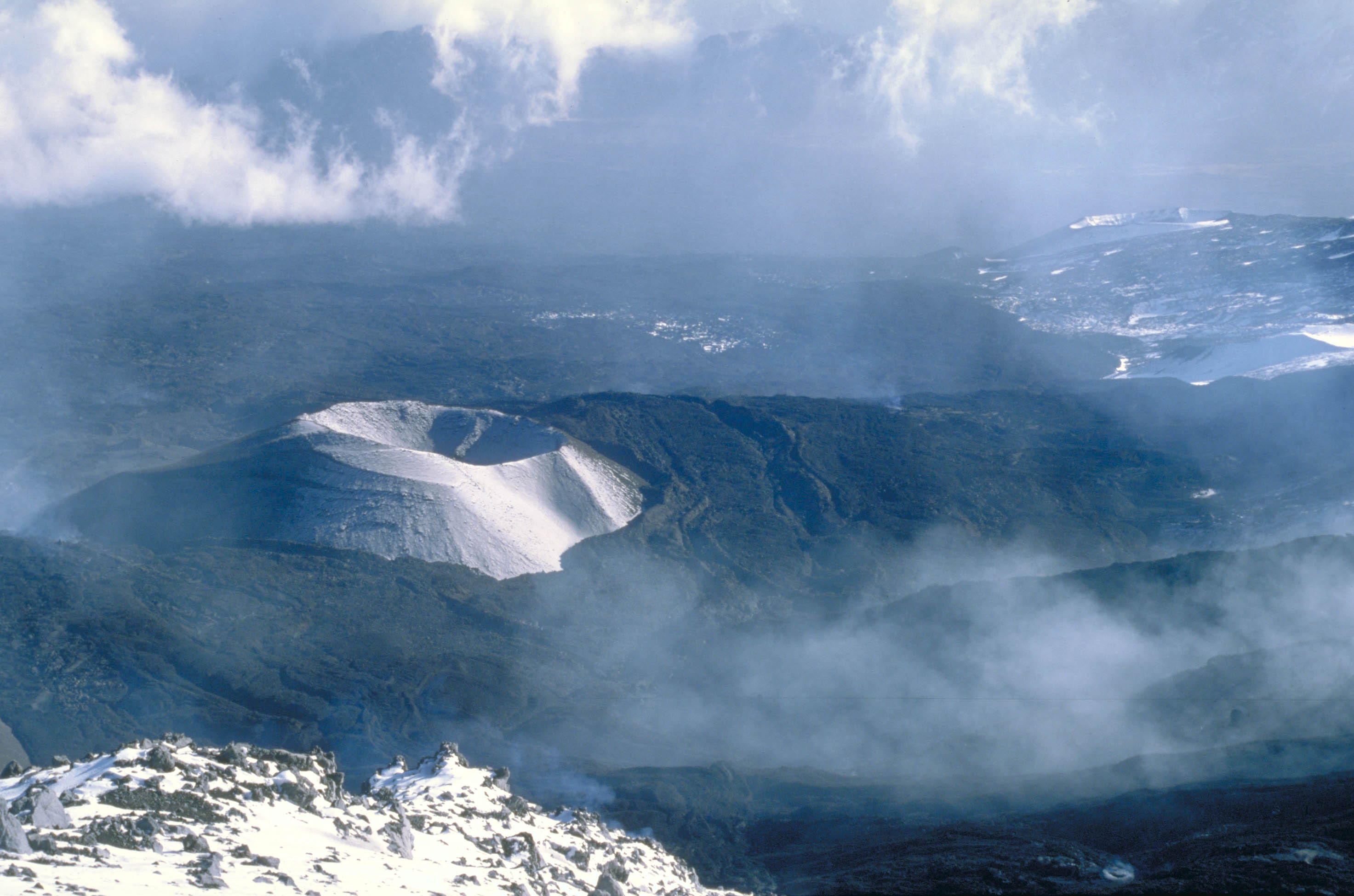 Mount Etna Italy Cinder Cone