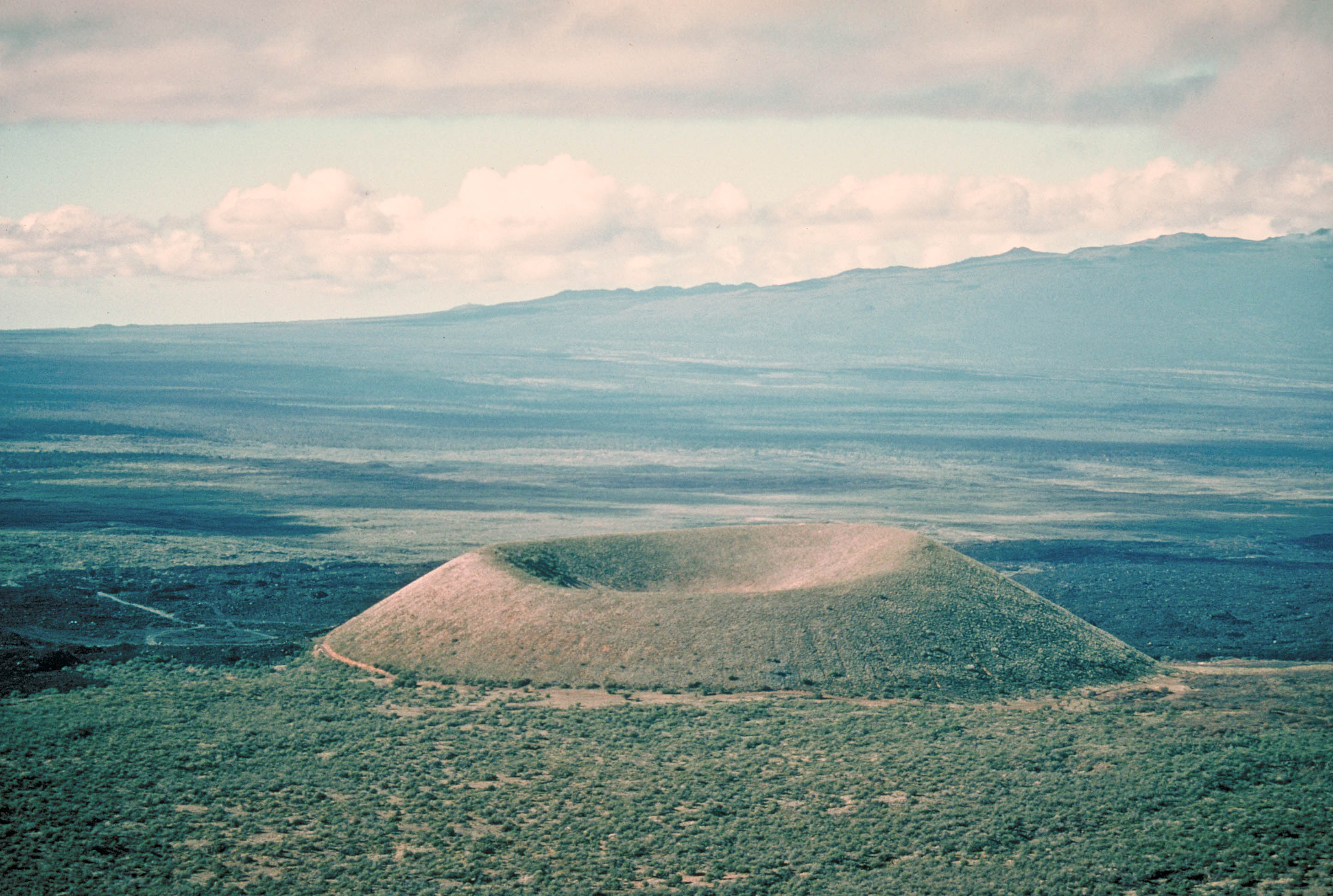 Puu Ka Pele Cinder Cone Mauna Kea Volcano