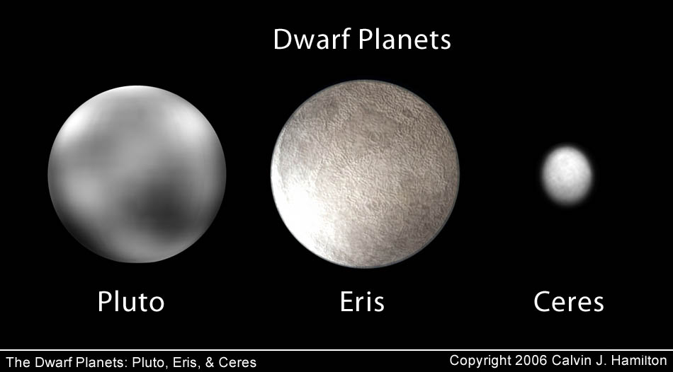 the dwarf planets from earth - photo #18