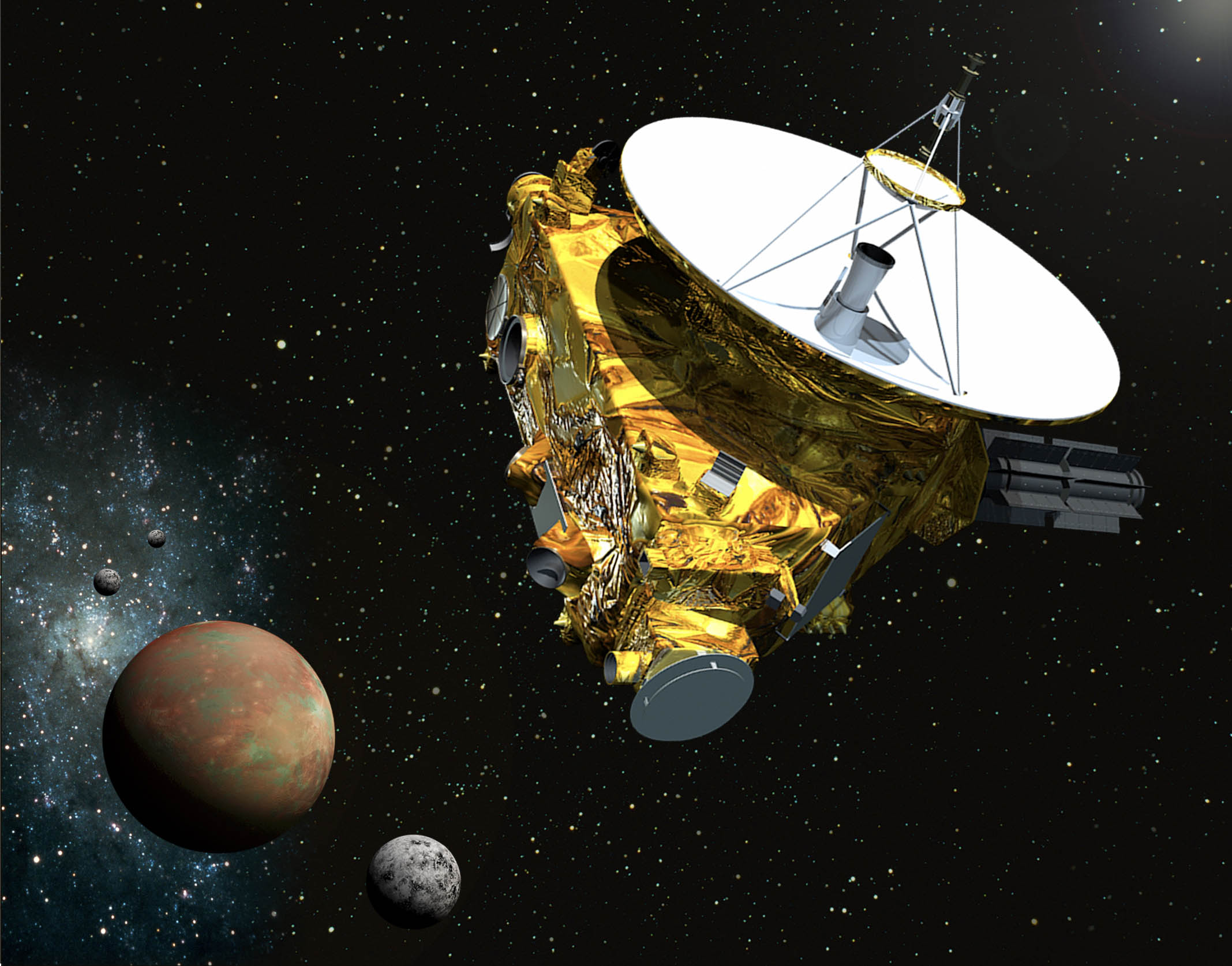 flyby spacecraft and pluto - photo #3