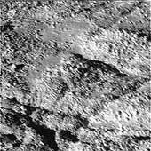 Boulder-Strewn Surface -- Narrow Angle Camera View