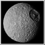 Mimas and Herschel Crater